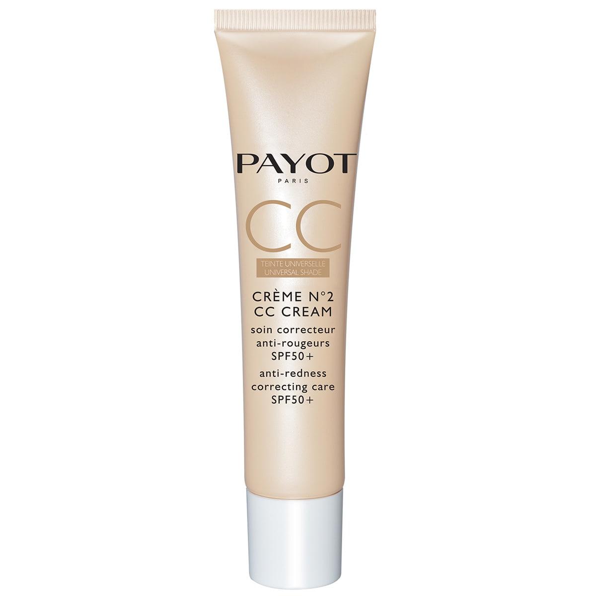 Payot - Crème N°2 CC Cream - Soin correcteur anti-rougeurs SPF 50+