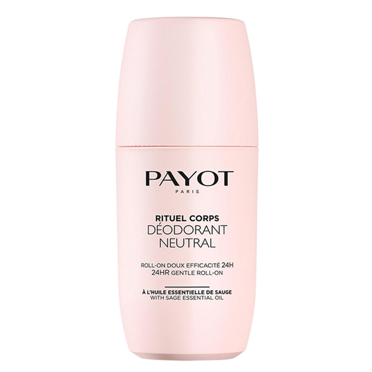 Payot - Déodorant Neutral - Roll-on doux efficacité 24h