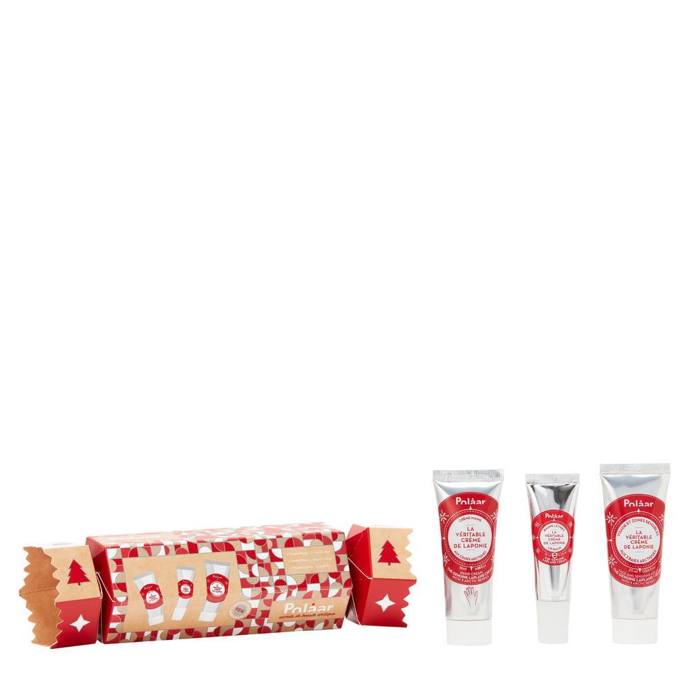 Polaar - Coffret La Véritable Crème de Laponie - Crackers Soins mains, lèvres et visage