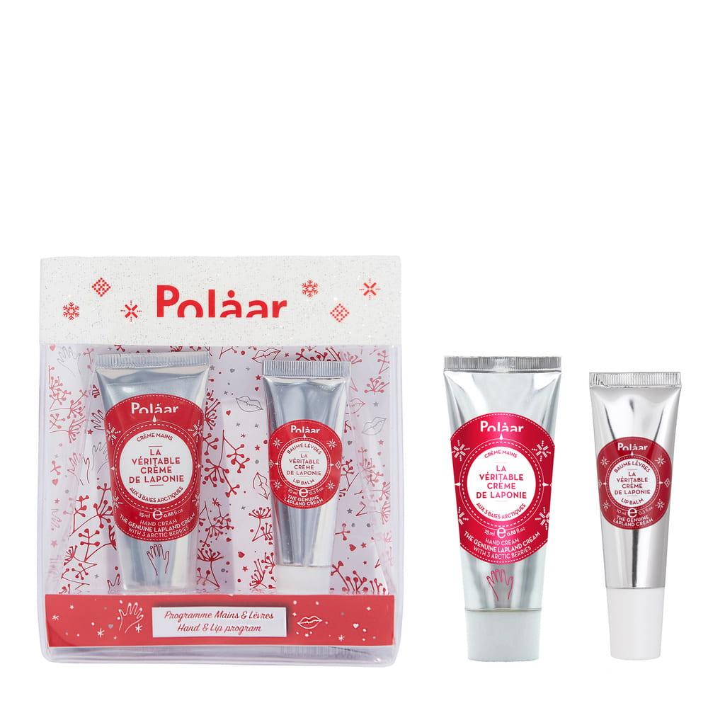 Polaar Coffret La Véritable Crème de Laponie - Kit mains et lèvres