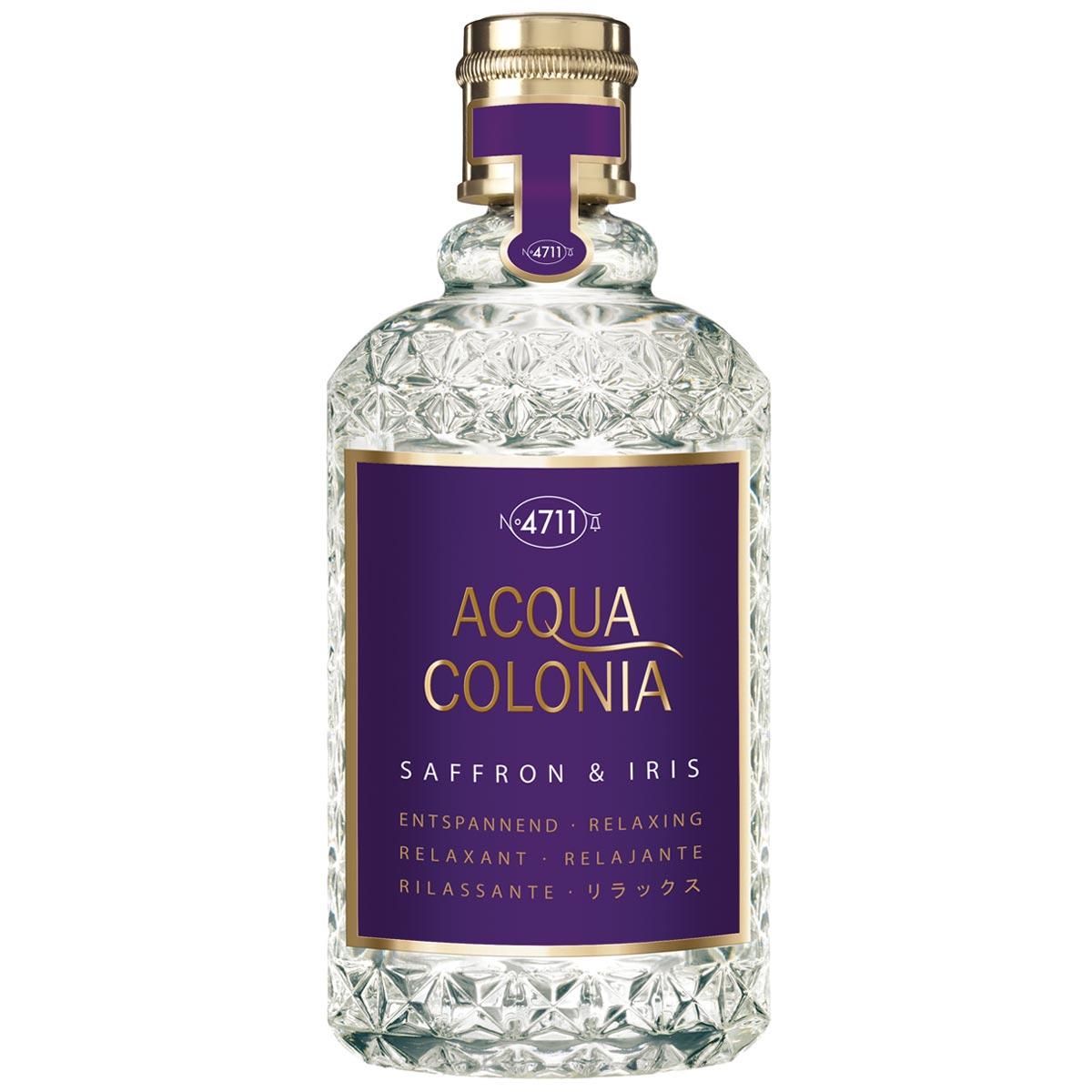 Eau de Cologne Acqua Colonia Safran & Iris - 4711