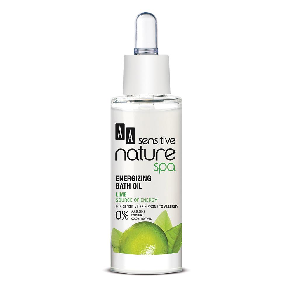 AA Sensitive Nature Spa - Lime - Huile de bain énergisante 30 ml
