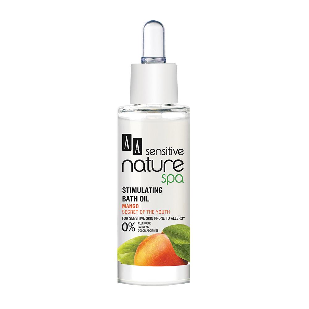 AA Sensitive Nature Spa - Mangue - Huile de bain stimulante 30 ml