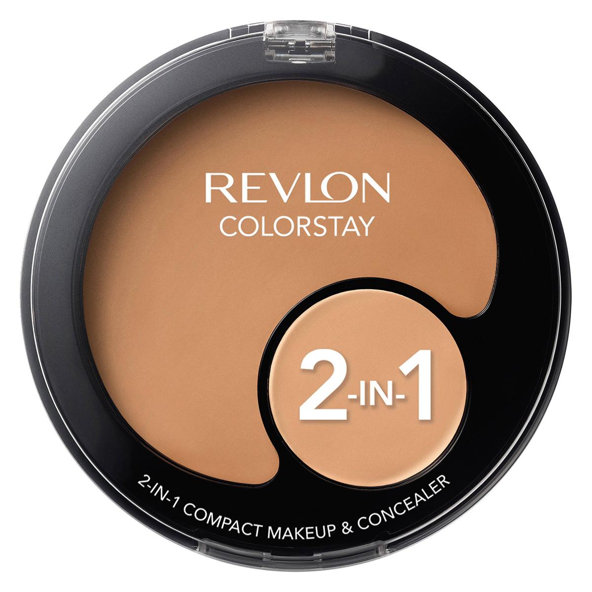 Revlon - Colorstay 2 en 1 - Fond de Teint Compact et Anticernes