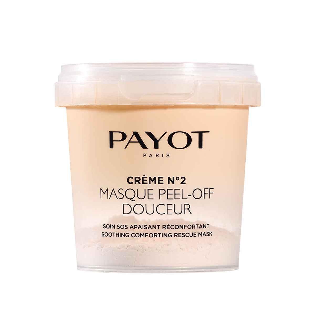 Payot - Crème N°2 Masque Peel Off Douceur - Le soin SOS apaisant réconfortant