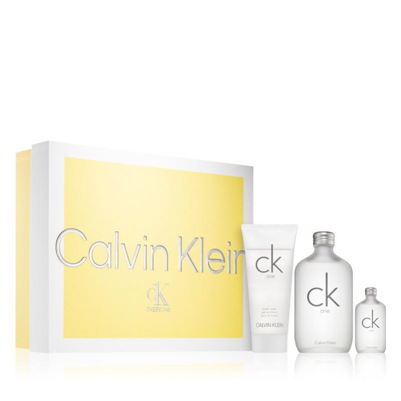 coffret ck one Calvin Klein