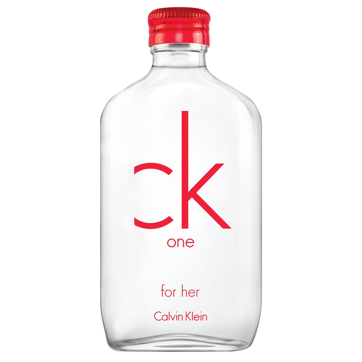 Eau de Toilette ck one Red Edition for Her - CALVIN KLEIN