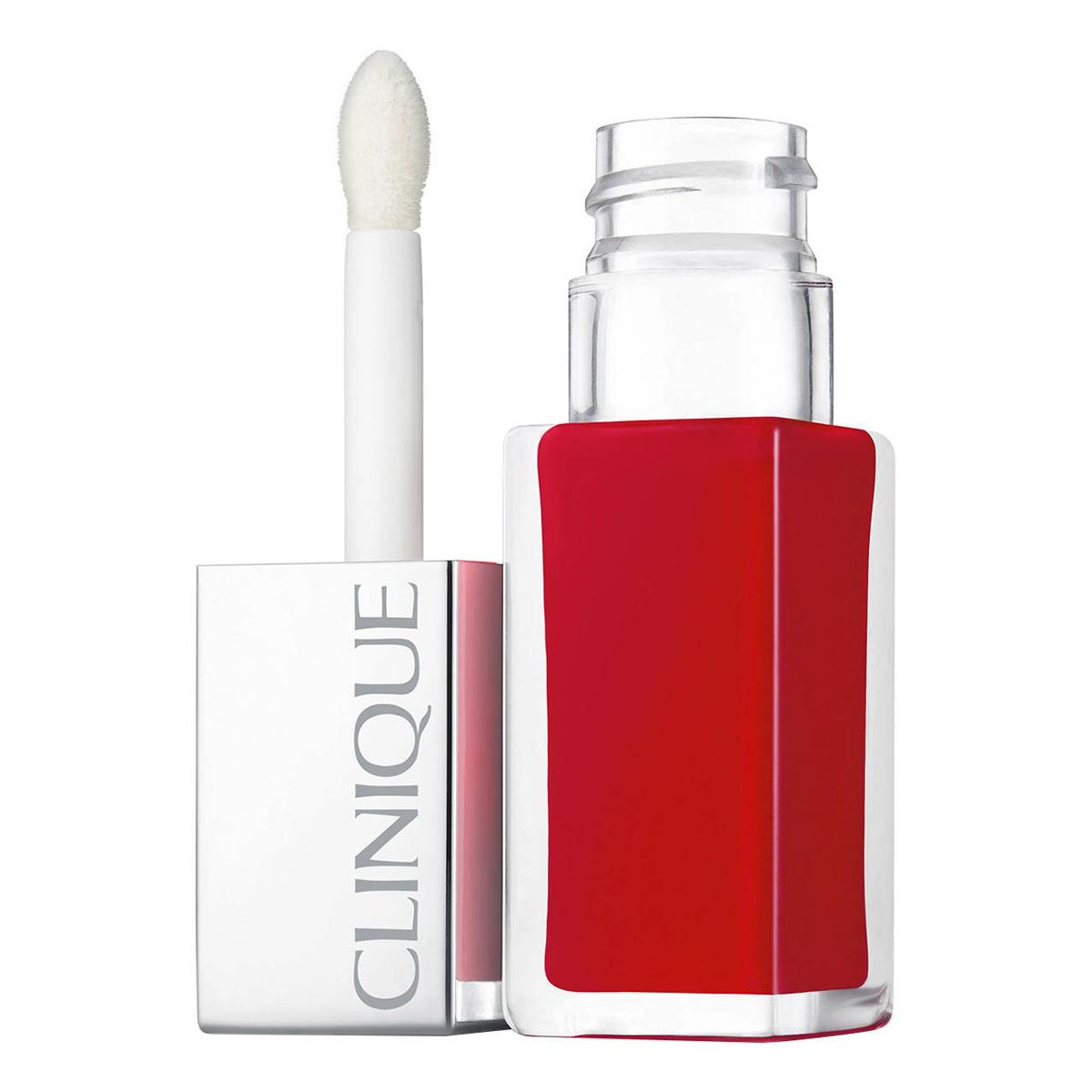 Clinique - Pop Lacquer - Rouge Laque + Base