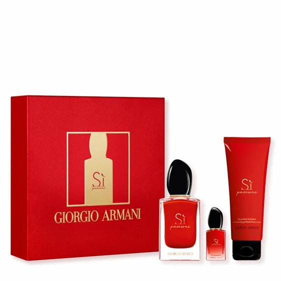 Coffret Armani Si Passione Eau de Parfum