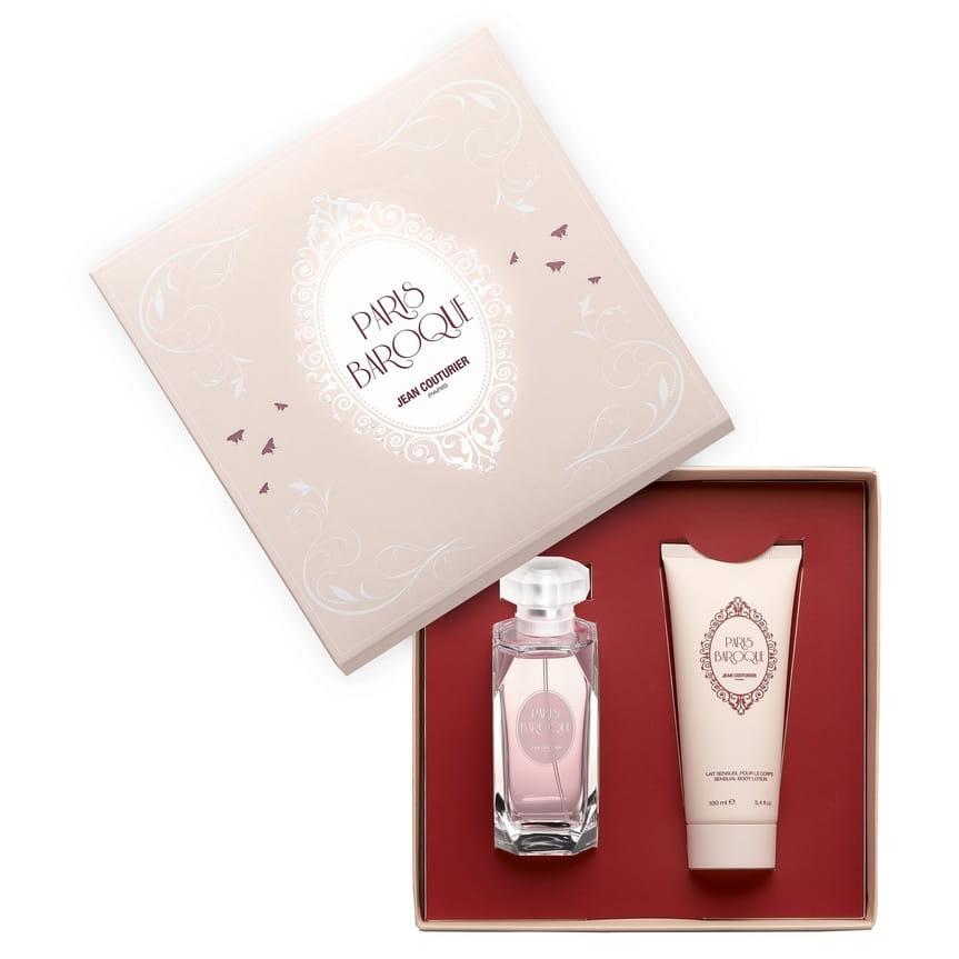 Jean Couturier - Coffret Paris Baroque - Eau de Parfum 100 ml + Lait corps 100 ml