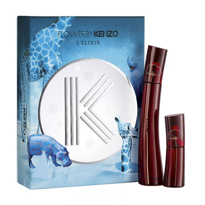 Kenzo De By 50 Eau Parfum Flower Ml L'elixir Coffret 54AL3jR