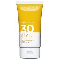 Clarins - Gel-en-Huile Solaire Invisible Corps - UVA/UVB30 150 ml