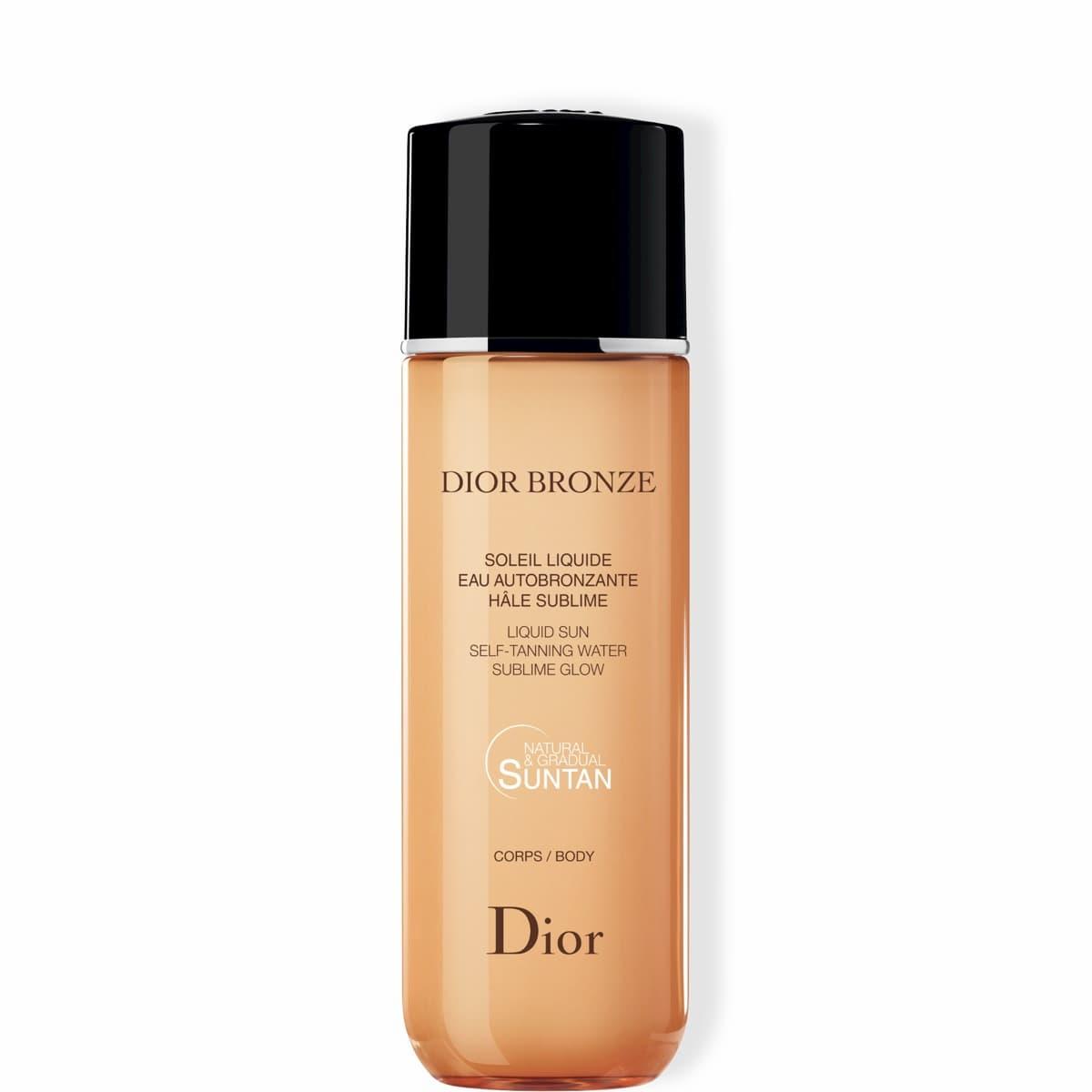 Dior Bronze Soleil liquide eau autobronzante