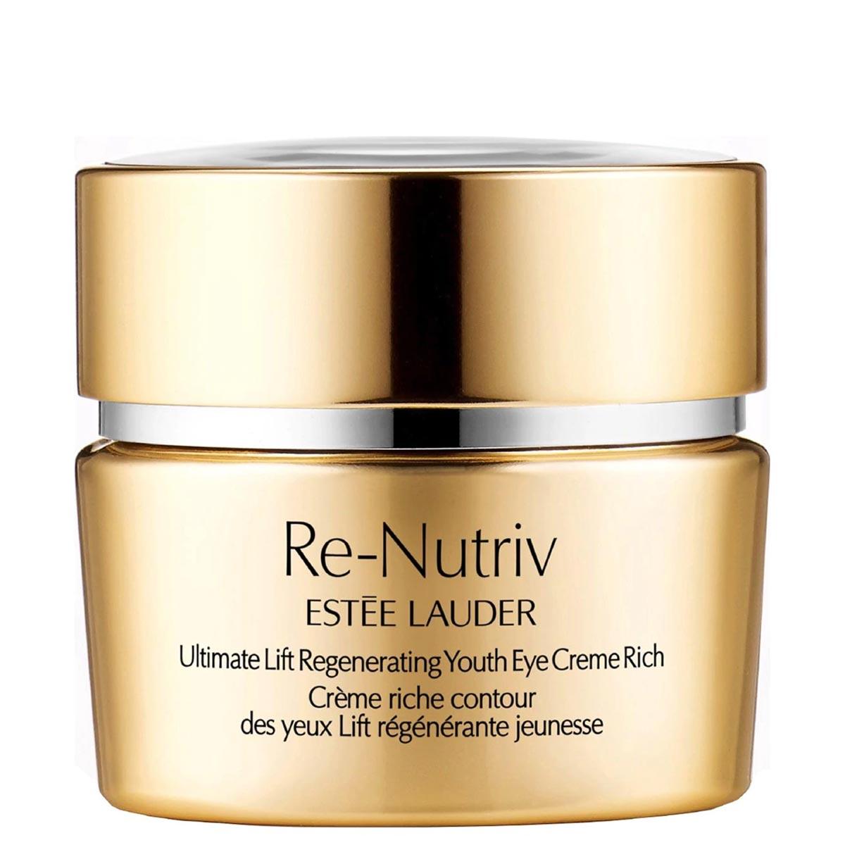 Estée Lauder - Re-Nutriv Ultimate Lift - Crème riche contour des yeux Lift régénérante jeunesse 15 ml