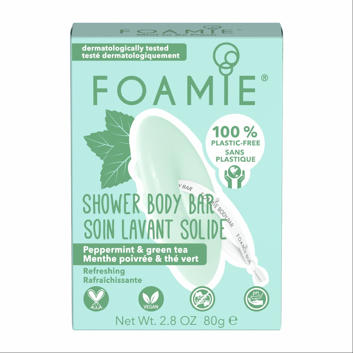 Foamie Soin lavant solide Corps - Mint to Be Fresh