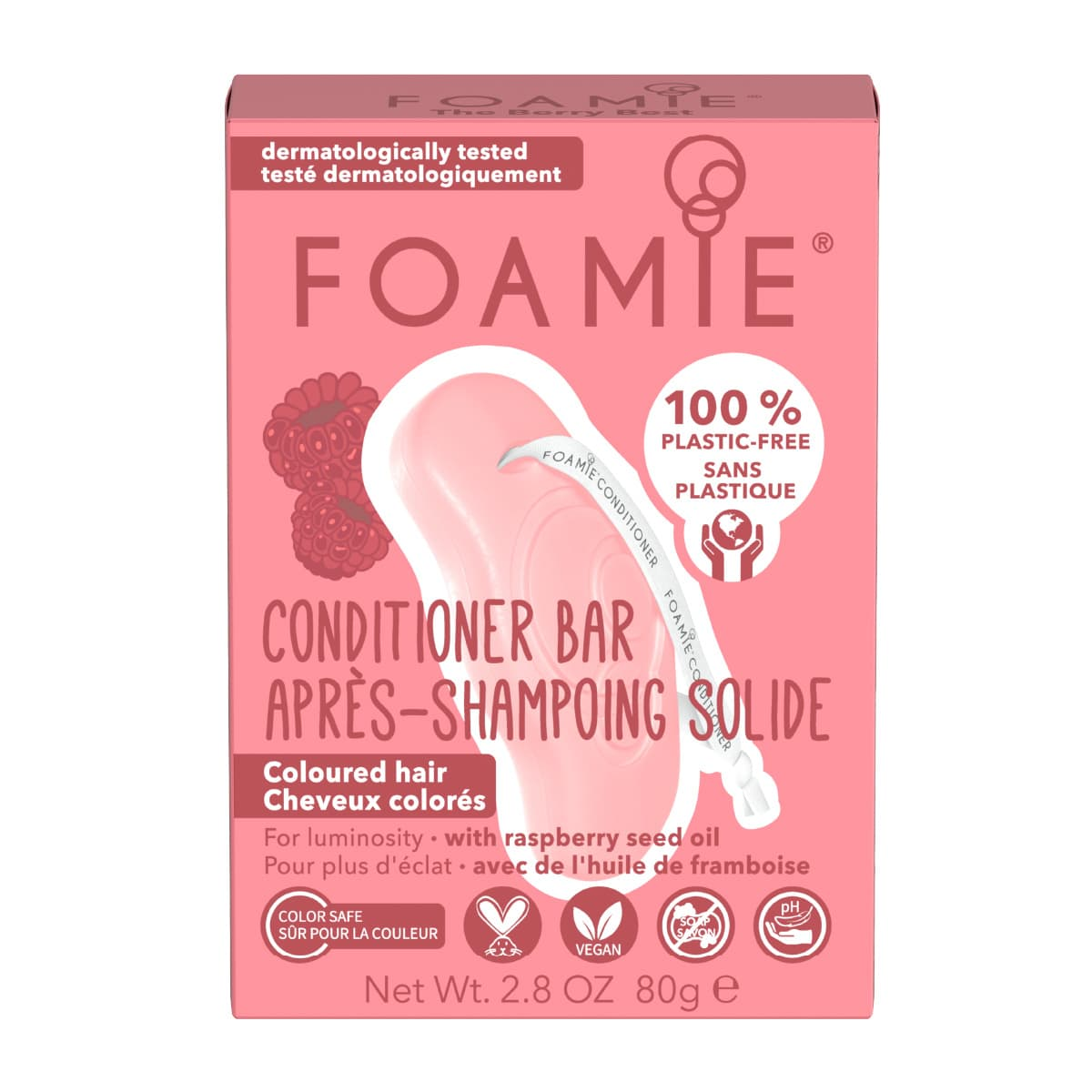 Foamie - Après-shampoing solide - The Berry Best