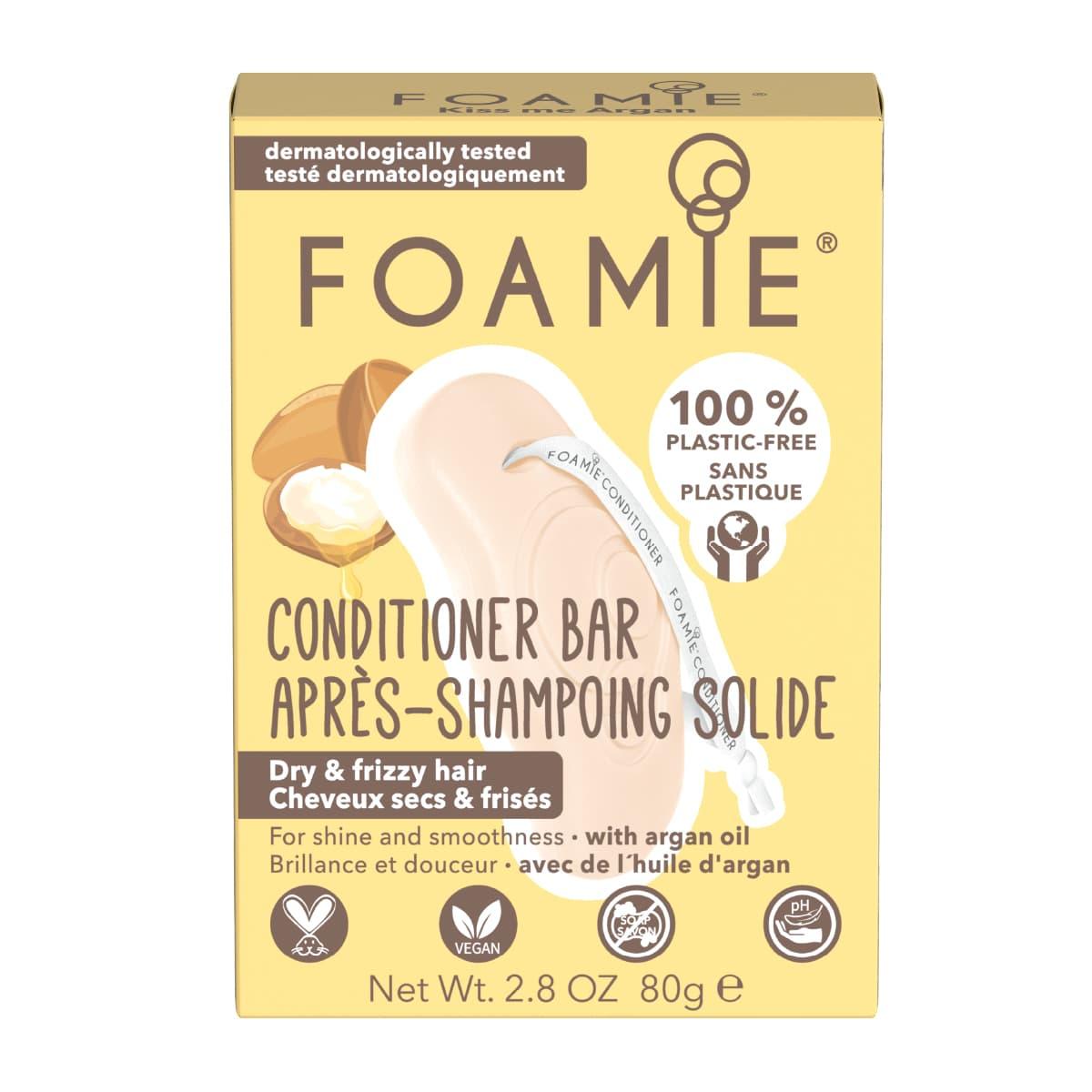 Foamie - Après-shampoing solide - Kiss Me Argan