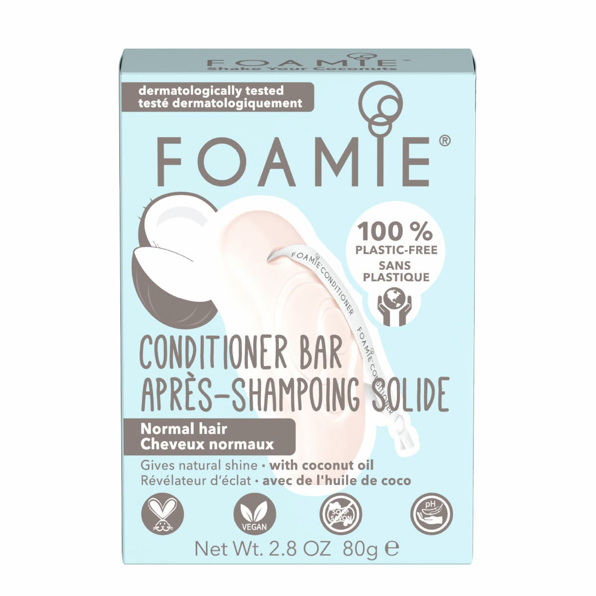 Foamie - Après-shampoing solide - Shake your Coconut
