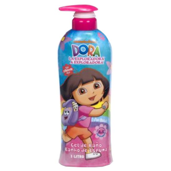 Nickelodeon - Dora l'exploratrice - Gel douche 1 litre