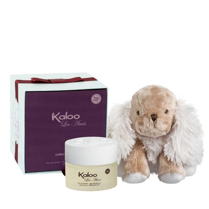 Kaloo - Coffret les amis Chiot - Eau de senteur 100 ml + Peluche