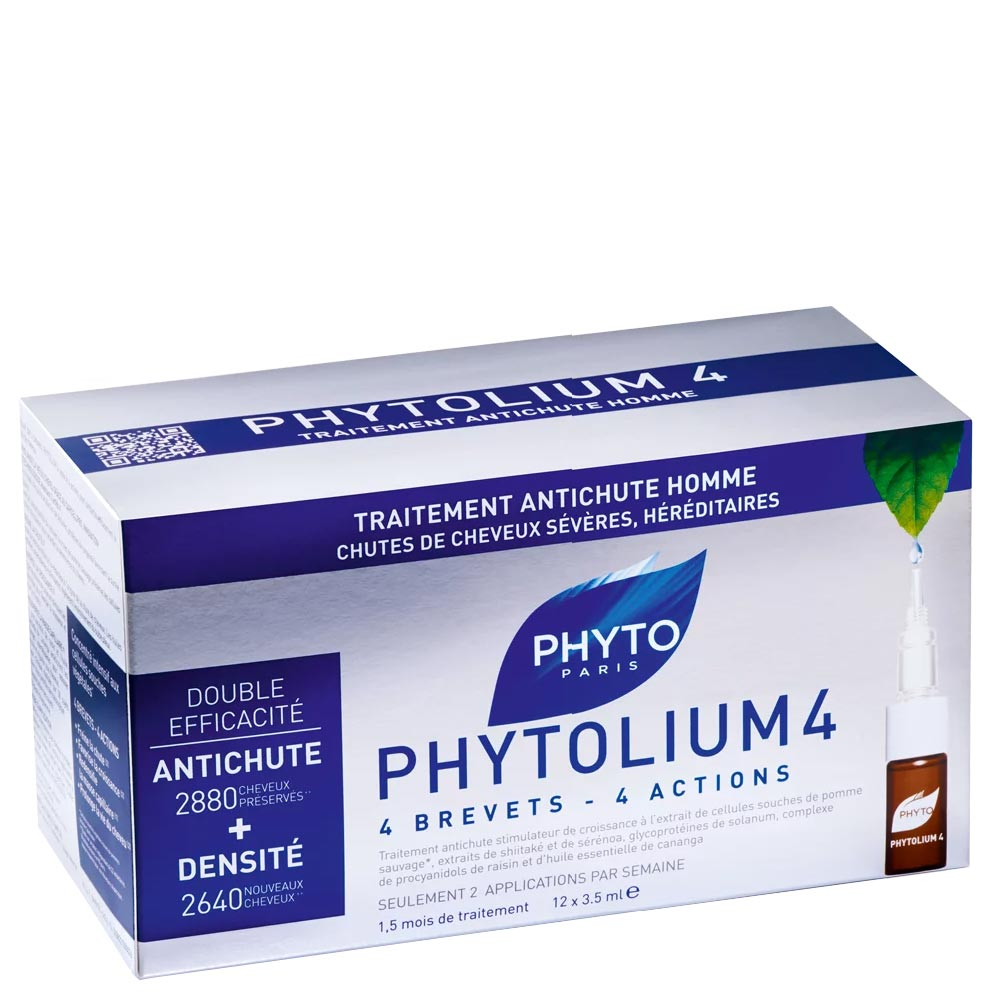 Phyto - PhytoLium 4 - Concentré antichute 12 x 3.5 ml