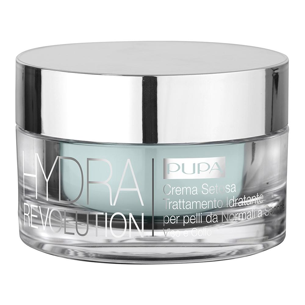 Pupa - Hydra Revolution - Crème Soyeuse Soin Hydratant peaux Normales à Sèches - 50 ml