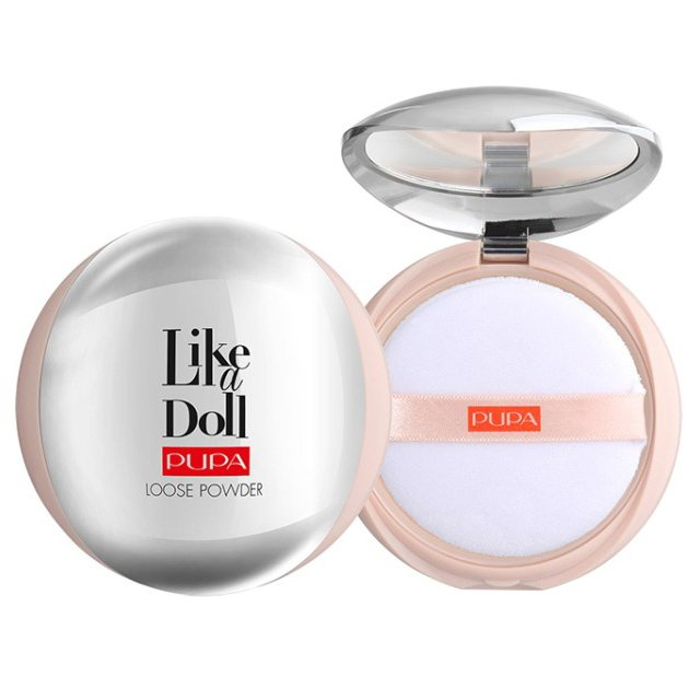 Pupa - Like a Doll Loose Powder - Poudre Invisible Effet Peau Nu