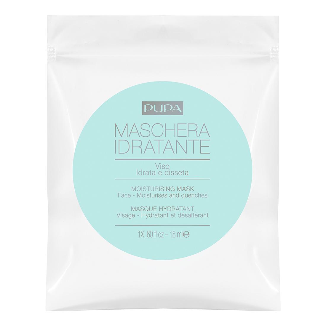 Pupa - Masque Visage - Tissu Monodose