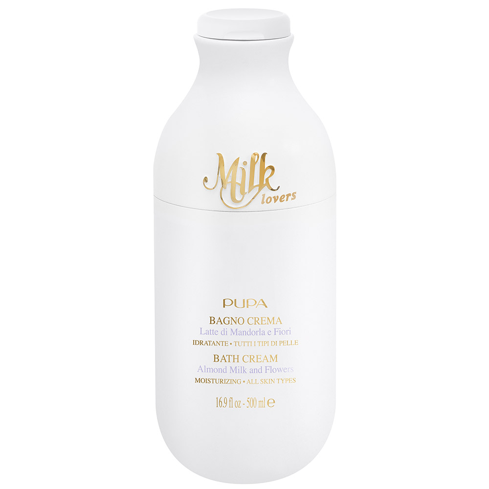 Pupa - Milk Lovers - Bain Crème au Lait d'Amande et Fleurs - 500 ml