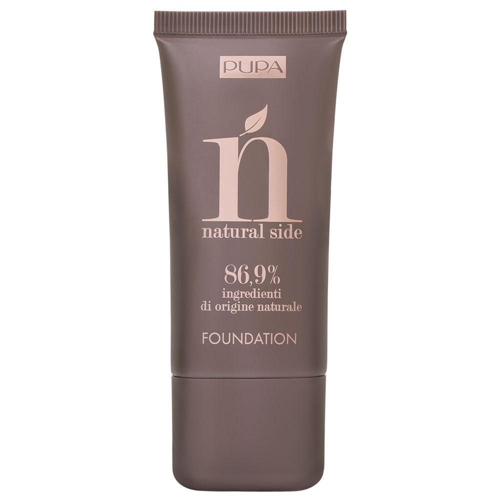 Natural Side Foundation, Fond de teint fluide - Pupa