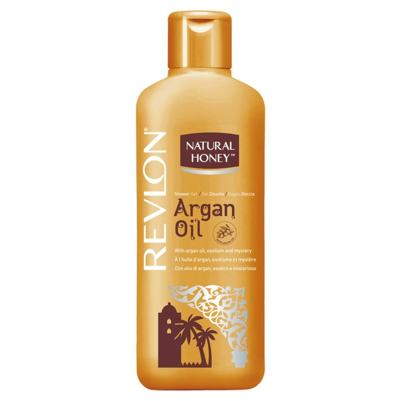 Revlon - Natural Honey - Gel Douche Elixir d'Argan 650 ml