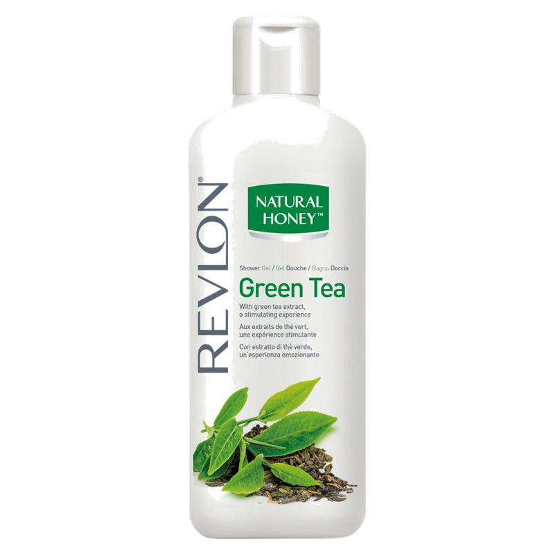 Revlon - Natural Honey - Gel Douche Thé Vert 650 ml
