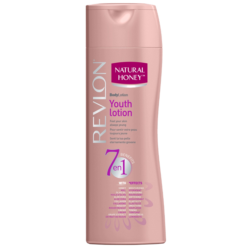 Revlon - Natural Honey - Lotion 7 en 1 Elixir de Jeunesse 330 ml
