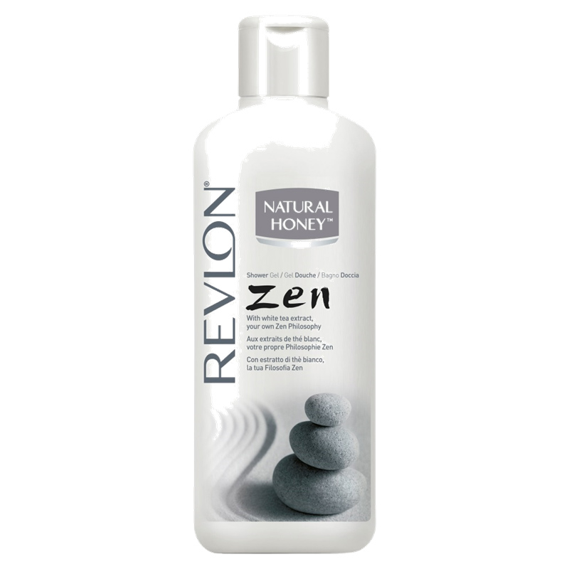 Revlon - Natural Honey - Gel Douche Thé Blanc Zen 650 ml