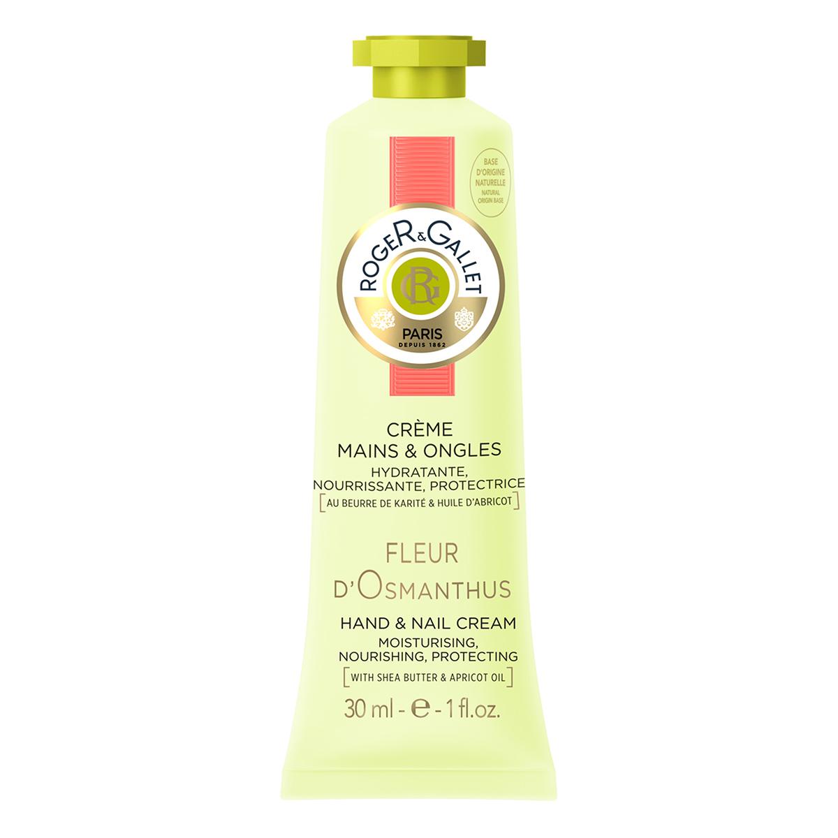 Roger&Gallet - Fleur d'Osmanthus - Crème mains et ongles 30 ml
