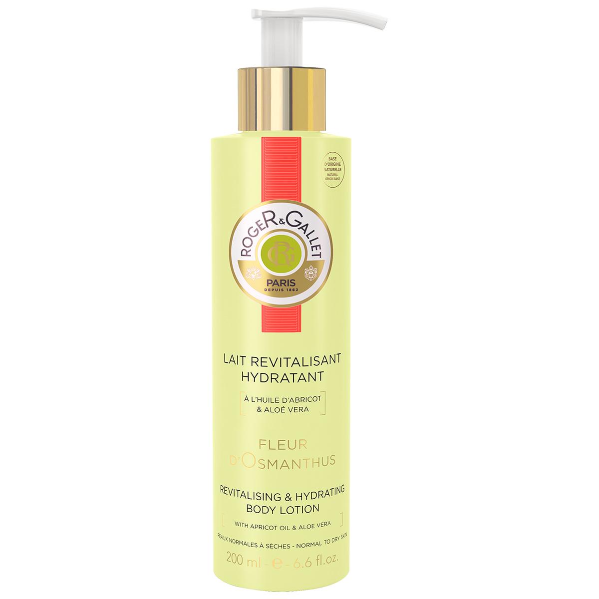 Roger&Gallet - Fleur d'Osmanthus - Lait Revitalisant Hydratant 200 ml