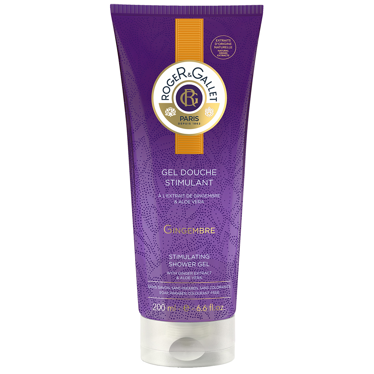 Roger&Gallet - Gingembre - Gel Douche Stimulant 200 ml