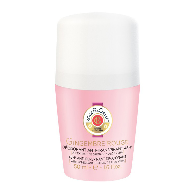 Roger&Gallet - Gingembre Rouge - Déodorant 50 ml