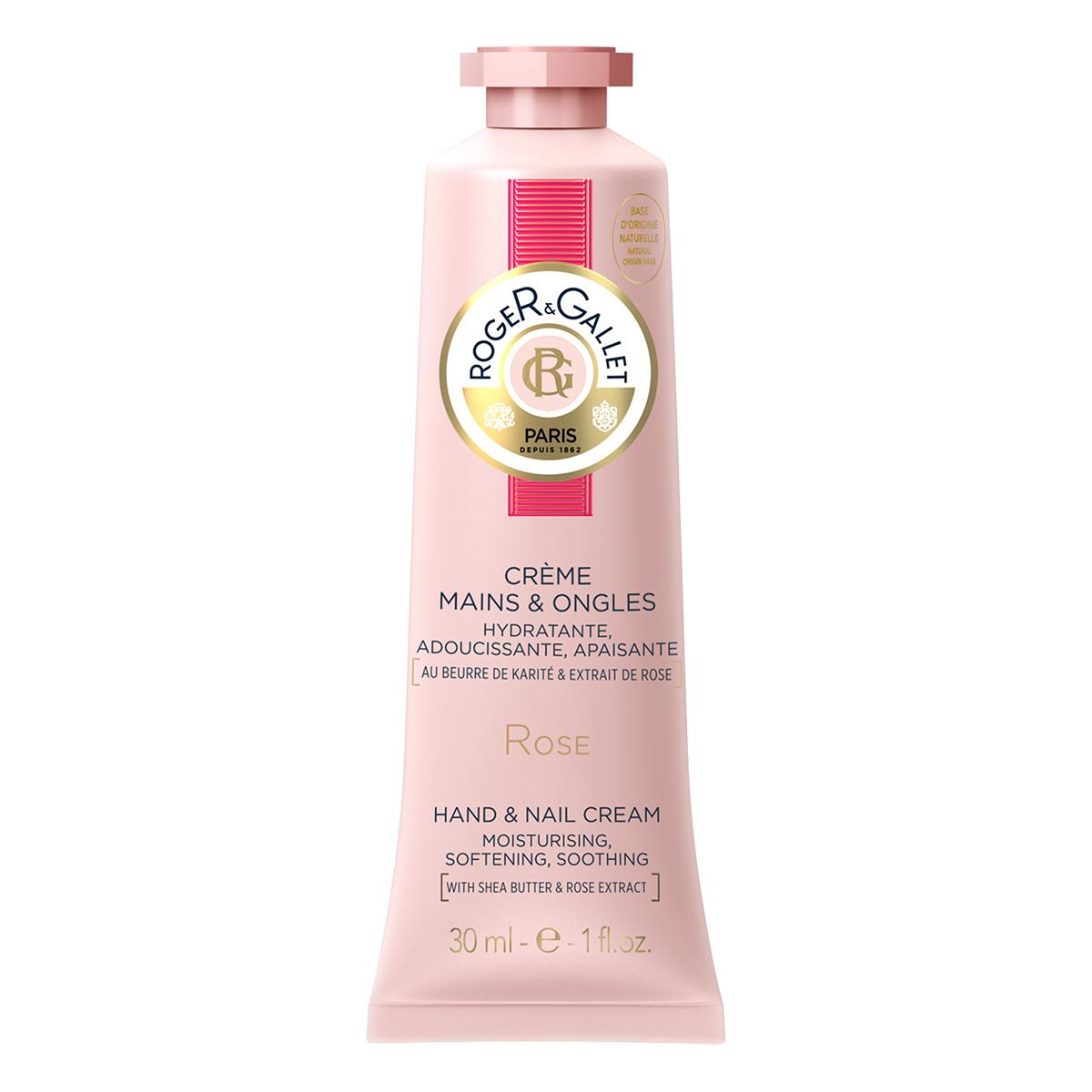 Roger&Gallet - Rose - Crème mains et ongles 30 ml