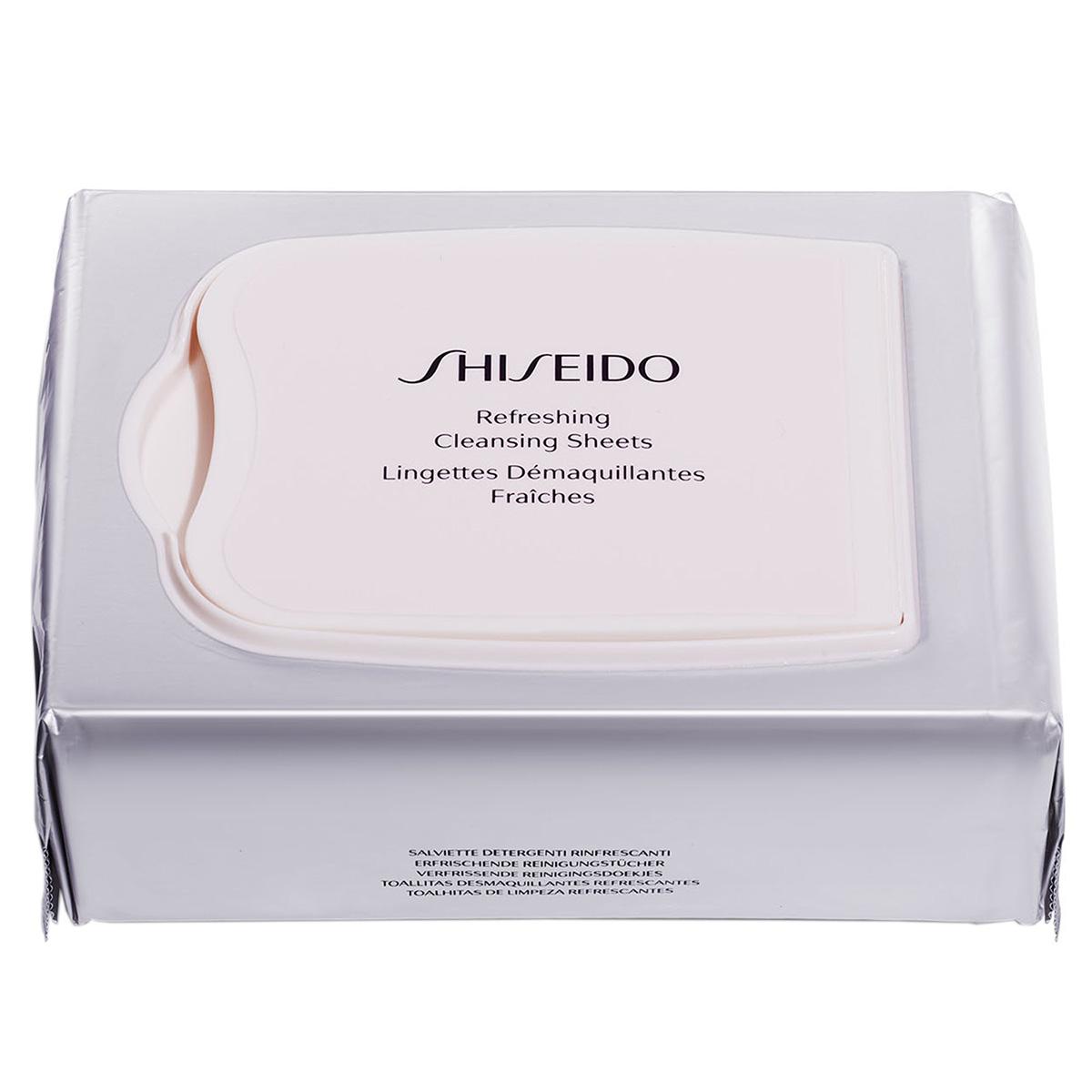 Shiseido - Lingettes Démaquillantes Fraîches - 30 lingettes