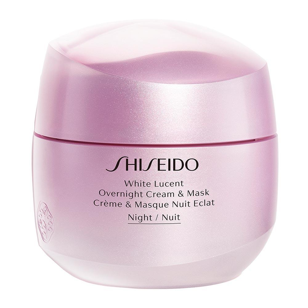 White Lucent Crème Masque Nuit Éclat - Shiseido