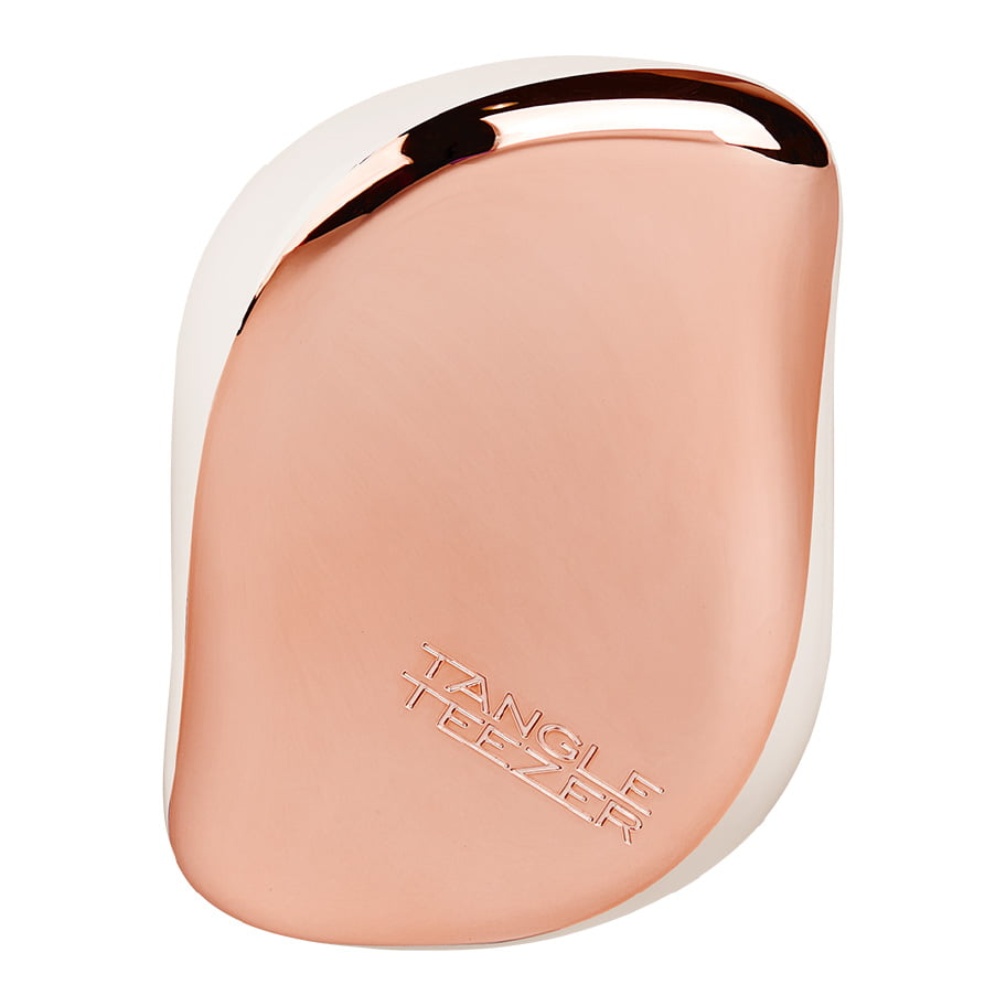 Tangle Teezer - Compact Styler - Brosse à cheveux Smashed Cream Rose Gold