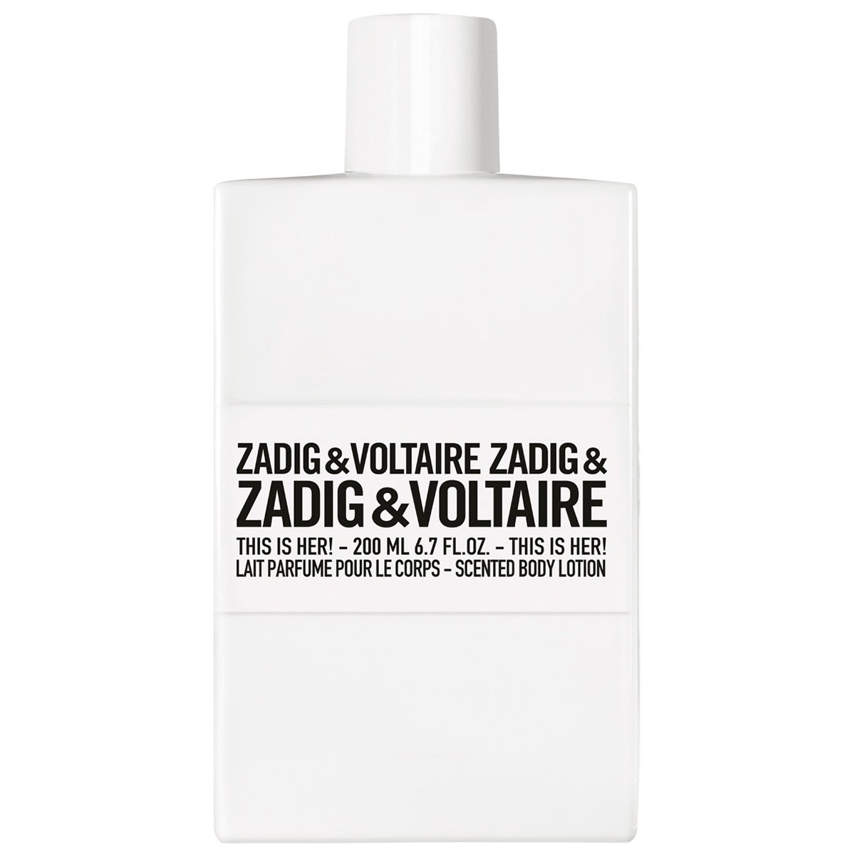 Zadig & Voltaire - This is Her! - Lait corps 200 ml