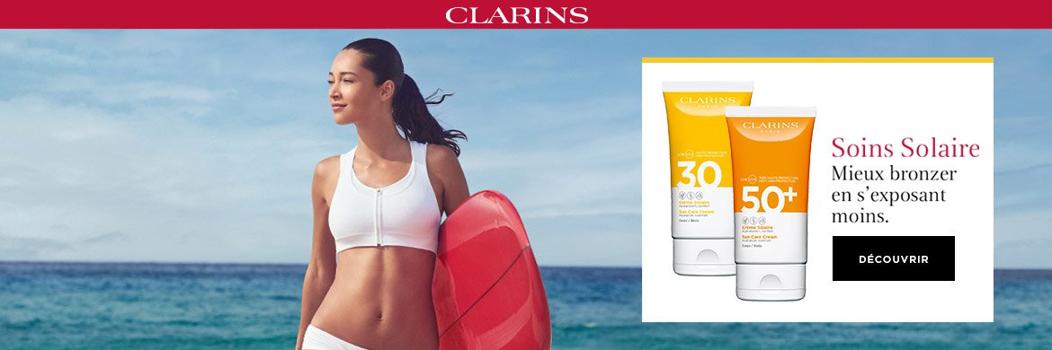 Clarins Soins Solaires