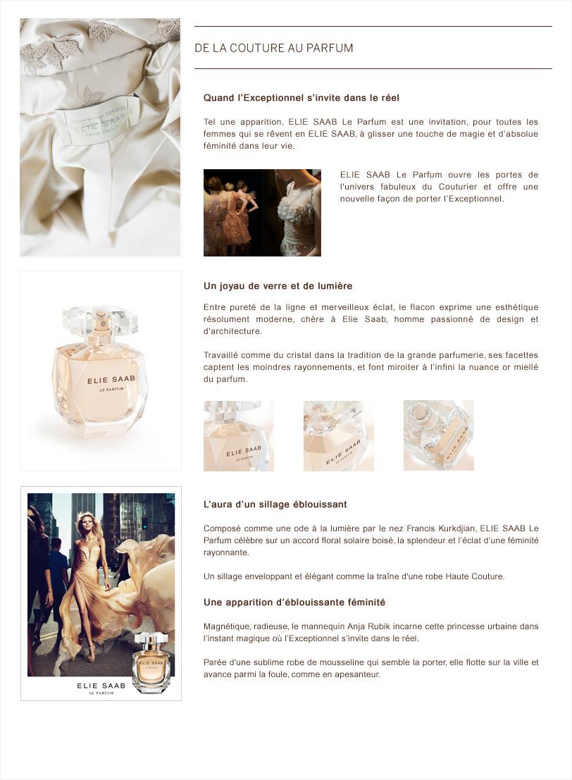 Elie Saab de la couture au parfum